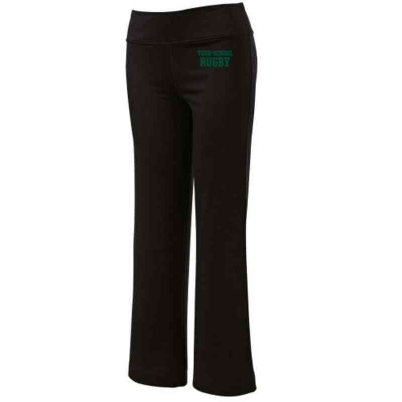 Rugby Embroidered Yoga Pants