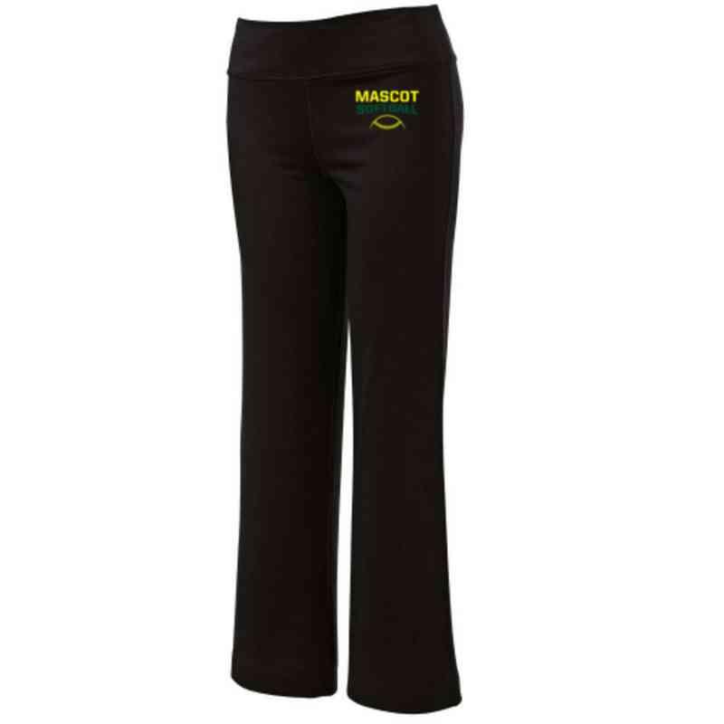 Softball Embroidered Yoga Pants