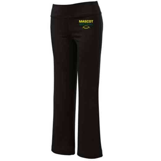 Softball Embroidered Yoga Pants