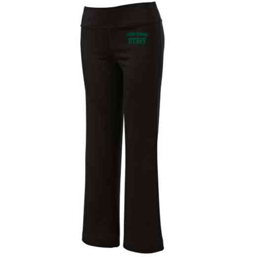 Staff Embroidered Yoga Pants