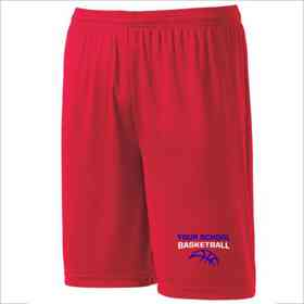 Basketball Youth Sport-Tek 9 inch Competitor Short