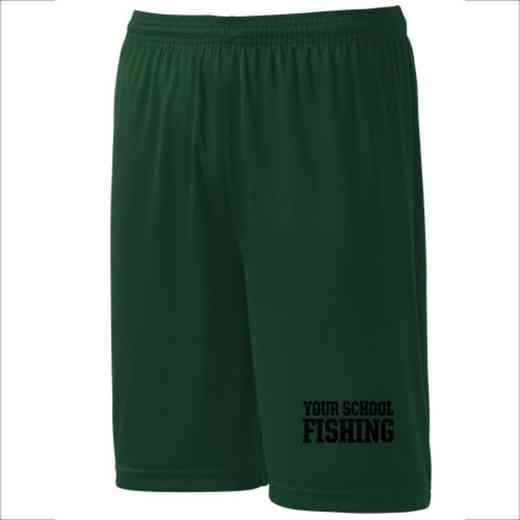 Fishing Youth Sport-Tek 9 inch Competitor Short