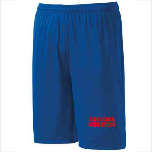 Gymnastics Youth Sport-Tek 9 inch Competitor Short