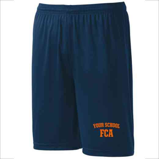 FCA Youth Sport-Tek 9 inch Competitor Short