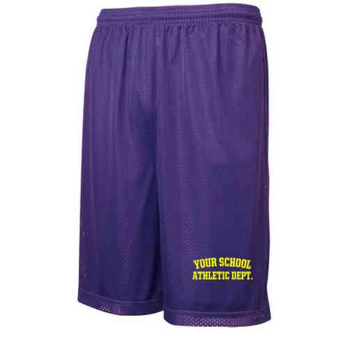 "Athletic Department Sport-Tek Embroidered Youth 7"" Classic Mesh Short"
