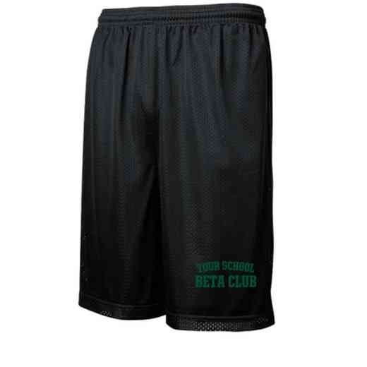 "Beta Club Sport-Tek Embroidered Youth 7"" Classic Mesh Short"