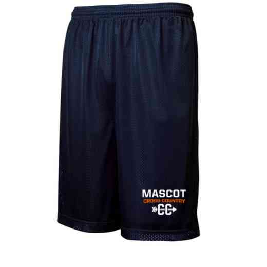 "Cross Country Sport-Tek Embroidered Youth 7"" Classic Mesh Short"