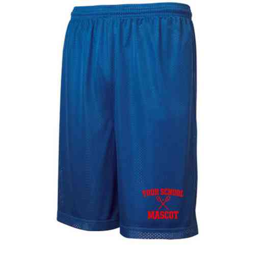 "Lacrosse Sport-Tek Embroidered Youth 7"" Classic Mesh Short"