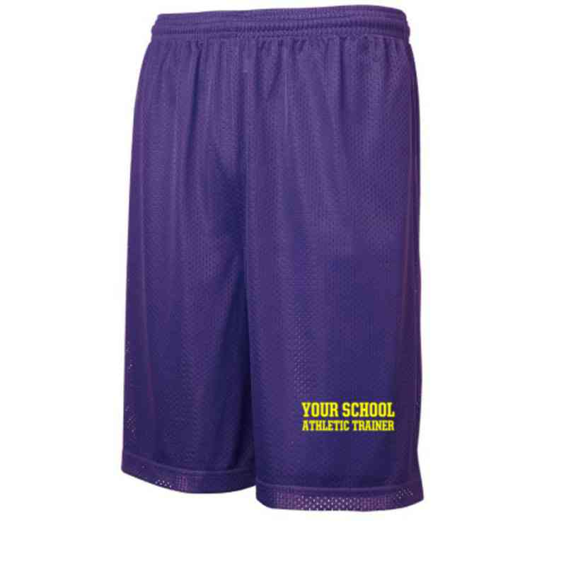 Athletic Trainer Embroidered Sport-Tek 9 inch Classic Mesh Short