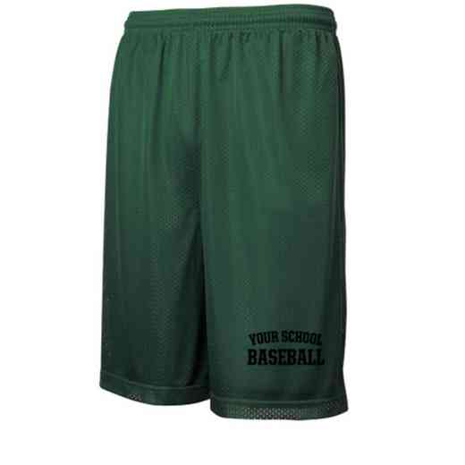 Baseball Embroidered Sport-Tek 9 inch Classic Mesh Short