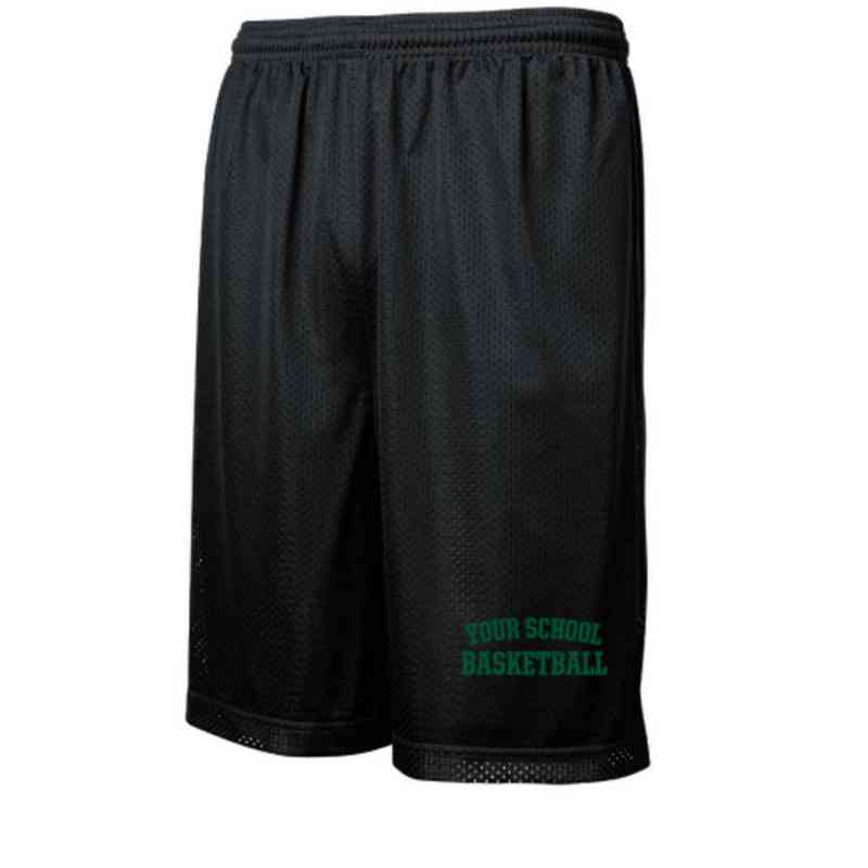 Basketball Embroidered Sport-Tek 9 inch Classic Mesh Short