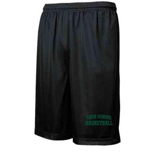 Basketball Embroidered Sport-Tek 9 inch Classic Mesh Short
