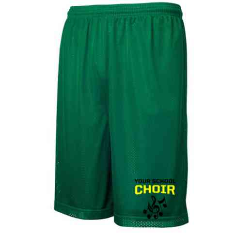 Choir Embroidered Sport-Tek 9 inch Classic Mesh Short