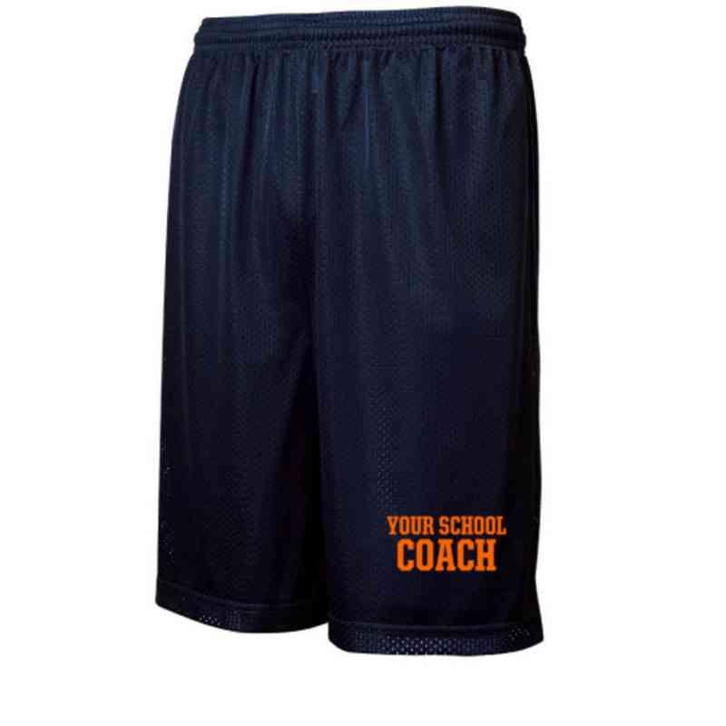 Coach Embroidered Sport-Tek 9 inch Classic Mesh Short