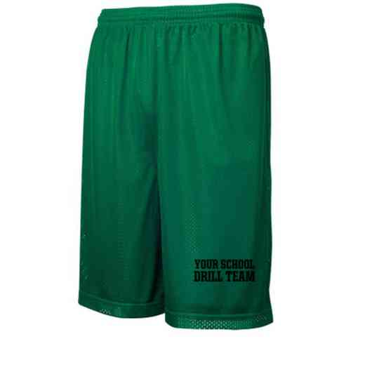 Drill Team Embroidered Sport-Tek 9 inch Classic Mesh Short