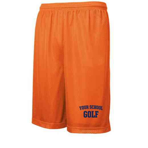Golf Embroidered Sport-Tek 9 inch Classic Mesh Short