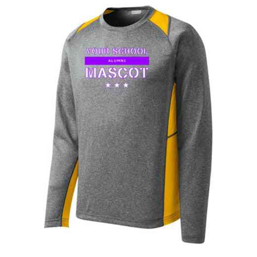 Alumni Sport-Tek Vintage Heather Long Sleeve Competitor T-shirt
