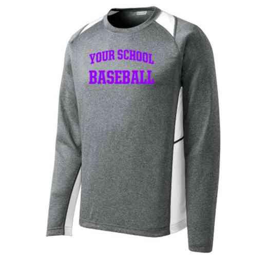 Baseball Sport-Tek Vintage Heather Long Sleeve Competitor T-shirt