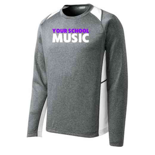 Music Sport-Tek Vintage Heather Long Sleeve Competitor T-shirt