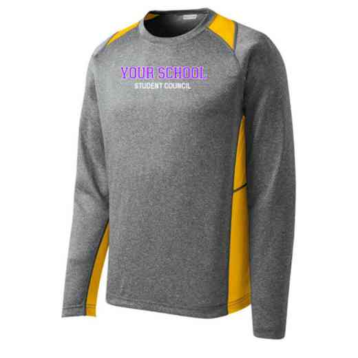 Student Council Sport-Tek Vintage Heather Long Sleeve Competitor T-shirt