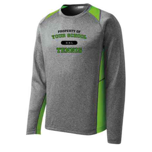 Tennis Sport-Tek Vintage Heather Long Sleeve Competitor T-shirt