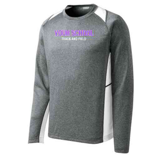 Track and Field Sport-Tek Vintage Heather Long Sleeve Competitor T-shirt