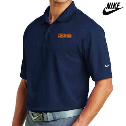 Athletic Department Embroidered Nike Dri Fit Polo