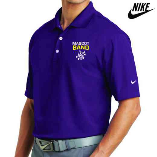 Band Embroidered Nike Dri Fit Polo