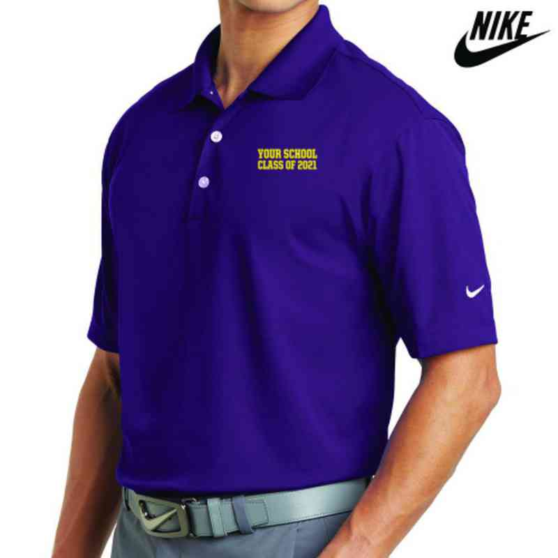 Class of  Embroidered Nike Dri Fit Polo