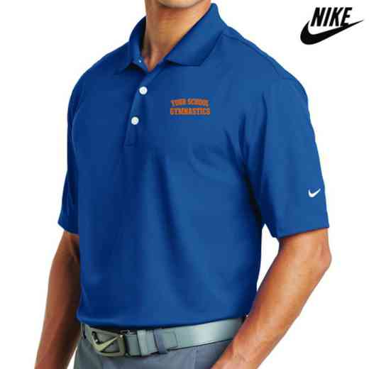 Gymnastics Embroidered Nike Dri Fit Polo