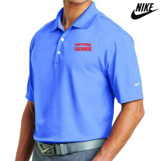 Lacrosse Embroidered Nike Dri Fit Polo