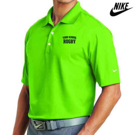 Rugby Embroidered Nike Dri Fit Polo