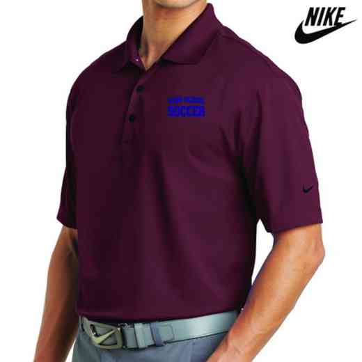 Soccer Embroidered Nike Dri Fit Polo