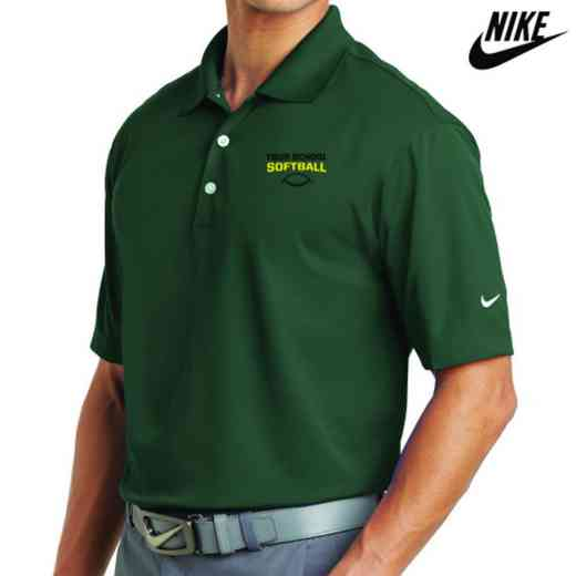 Softball Embroidered Nike Dri Fit Polo