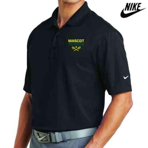 Tennis Embroidered Nike Dri Fit Polo