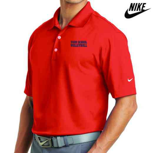 Volleyball  Embroidered Nike Dri Fit Polo