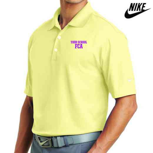 FCA Embroidered Nike Dri Fit Polo