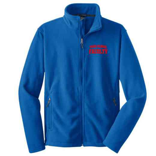 Faculty Embroidered Youth Zip Fleece Jacket