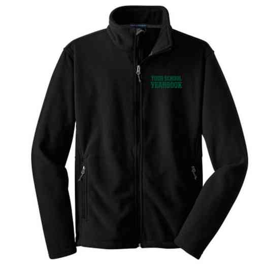 Yearbook Embroidered Youth Zip Fleece Jacket