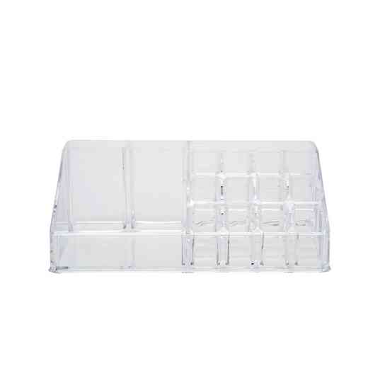 LA-96712 : COSMETIC AND JEWELRY HOLDER 16 SECTION