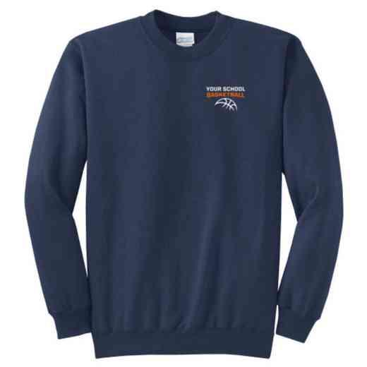 Basketball Youth Crewneck Sweatshirt