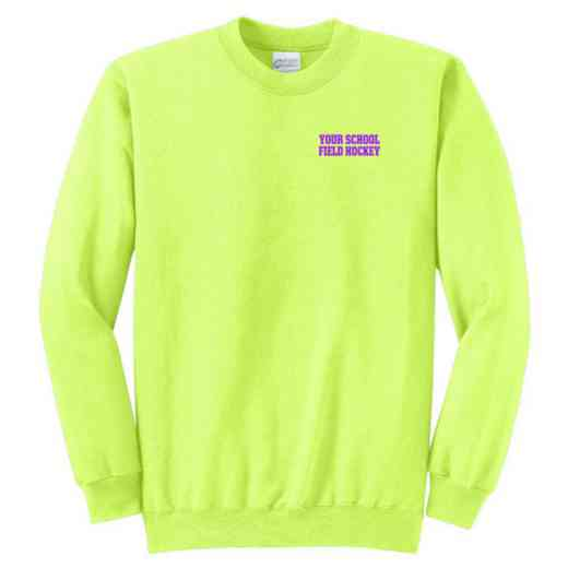 Field Hockey Youth Crewneck Sweatshirt