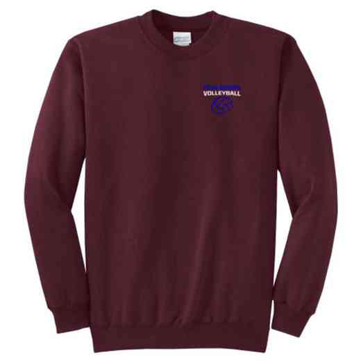 Volleyball  Youth Crewneck Sweatshirt