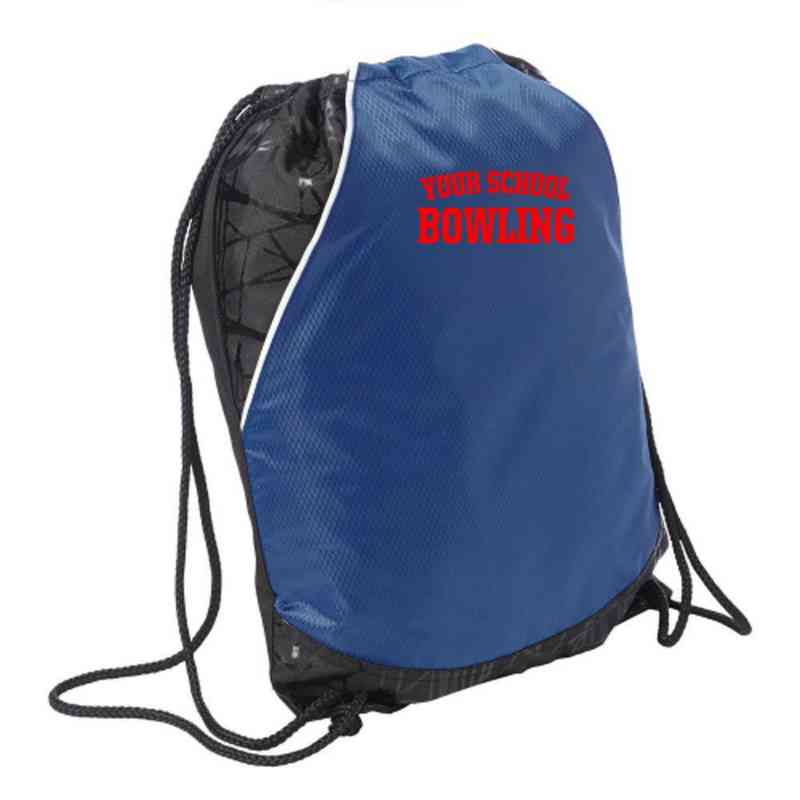 Bowling Embroidered Cinch Pack