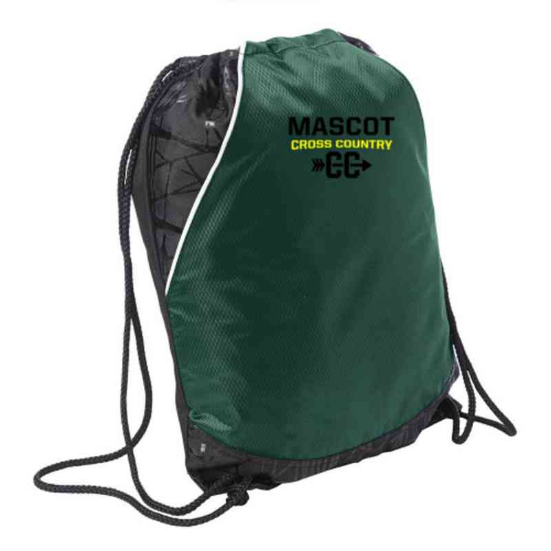 Cross Country Embroidered Cinch Pack