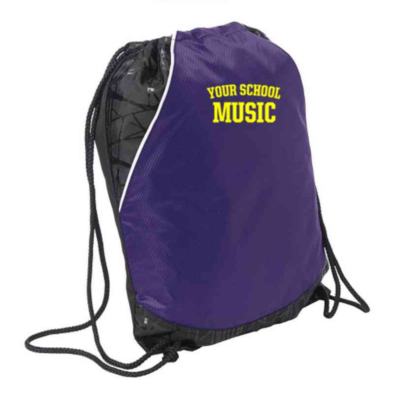 Music Embroidered Cinch Pack