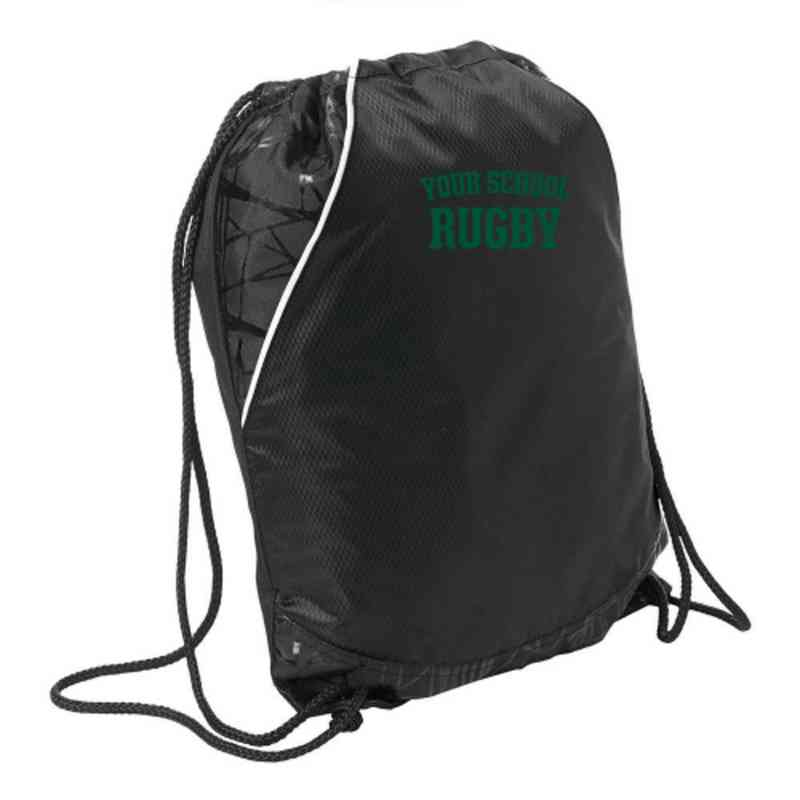 Rugby Embroidered Cinch Pack