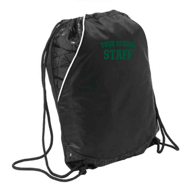 Staff Embroidered Cinch Pack