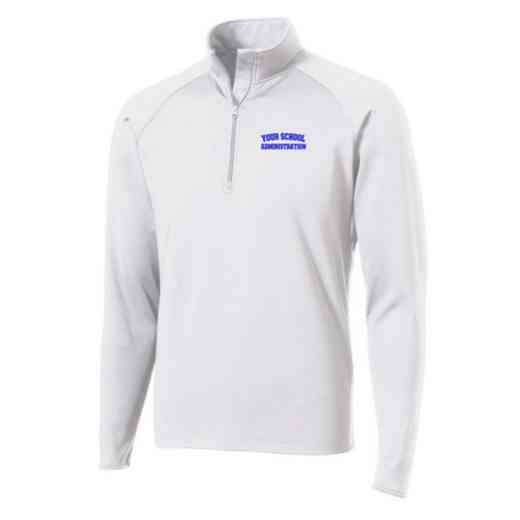 Administration Sport-Tek Embroidered Mens Half Zip Stretch Pullover
