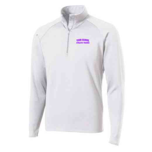 Athletic Trainer Sport-Tek Embroidered Mens Half Zip Stretch Pullover